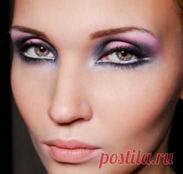 Как увеличить глаза с помощью макияжа - Образованная Сова