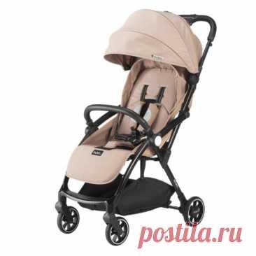 Прогулочная коляска Leclerc Magic fold plus Beige Бежевый (030762) купить в интернет-магазине   Твой Стиль