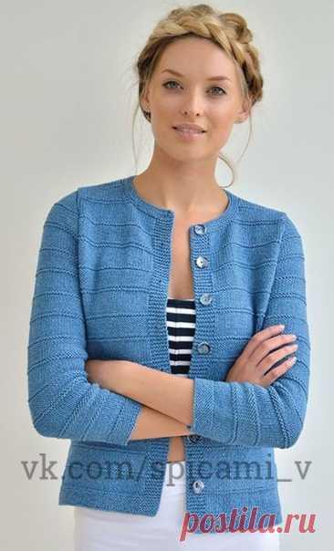Простой стильный жилет — Сделай сам, идеи для творчества - DIY Ideas