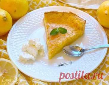 Лимонно-ванильный пирог Пошаговый рецепт с ингредиентами и фото