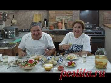 МАНТЫ! Сочные уйгурские манты с бульоном! Тесто на манты.