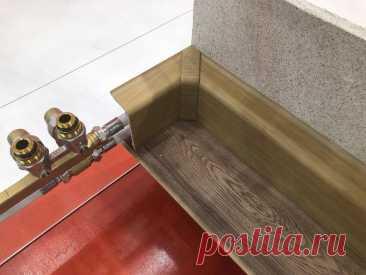 Прячем трубы в плинтусы, а не в стены и пол | Штуки из труб | Пульс Mail.ru Прокладка труб в плинтусах – довольно новый способ монтажа.