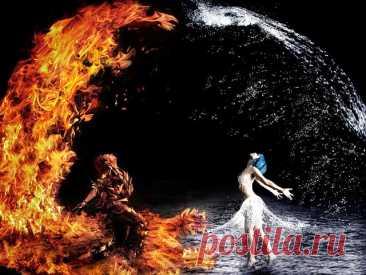 """Пустыня Ким Вальтер ... Судьба свела: их было двое, Она - прозрачный, чистый лёд.                В холодном хрустале, луч света отражая, Сияла, как звезда, что украшает небосвод.                Он - пламя, жар, бушующий огонь! Горяч, неудержим - спалИт, лишь только тронь... И вместе ...  - так дано судьбою.  Она  - загадочно, но холодно сияла.                А Он твердил: """"Согрею! Крепче обниму!"""" И обнимал, всё крепче, горячее ... И ей дарил тепло, подвластное ему. Всё жар..."""