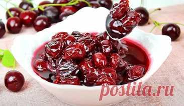Варенье из жареной вишни на сковороде - БУДЕТ ВКУСНО! - медиаплатформа МирТесен
