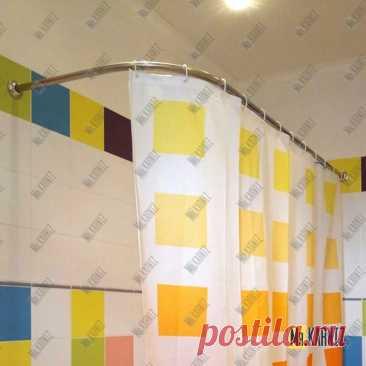 Карниз для ванны Г образный 170х75 в Москве! Цена 2 880 руб.