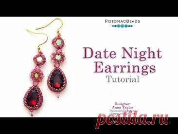 Date Night Earrings - DIY Jewelry Making Tutorial by PotomacBeads