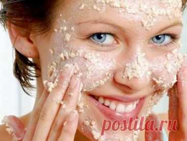 Овсяная маска против мелких высыпаний, которая делает кожу гладкой и матовой