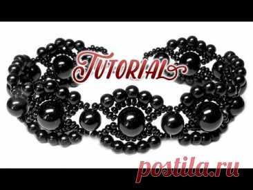 Tutorial: Vintage beaded bracelet / Винтажный браслет из бисера и бусин своими руками ❤ ❤ ❤ Спасибо за подписку!!! =* ❤ ❤ ❤Pattern / Схема: https://goo.gl/BWKjNuThanks for subscribing! ❤▼ ▲ ▼ ▲ ▼ ▲ ▼ ▲ ▼ ▲Material:- beads 8mm - 7 pcs- beads 6mm...