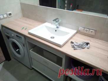 Мебель в ванную комнату своими руками   Пикабу