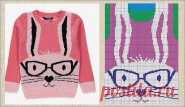Интарсия - взрослые свитера с модными детскими рисунками - модели и схемы | МНЕ ИНТЕРЕСНО | Яндекс Дзен