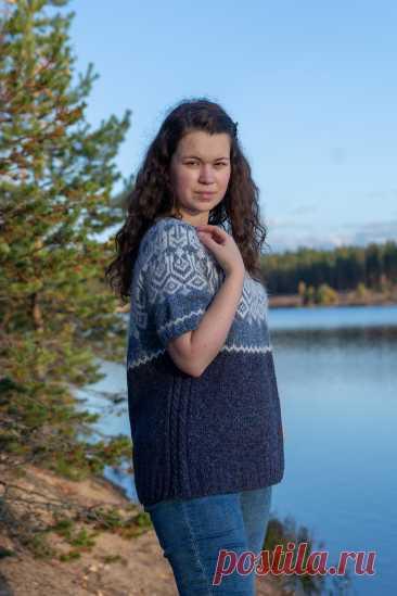 Ravelry: Jumper Nadia pattern by Elena Lebedeva