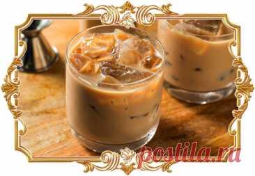 #Сливочный #коктейль #с #водкой (#рецепт18+, и #на #скорую #руку)  Крепкий #напиток с умопомрачительным ароматом кофе и сладкого ликёра.  Время приготовления: Показать полностью...