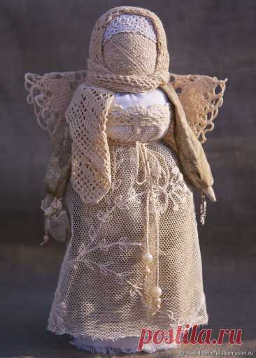 """Ангел-хранитель""""Рождественский"""" (винтажный, кружевной) – купить на Ярмарке Мастеров –"""