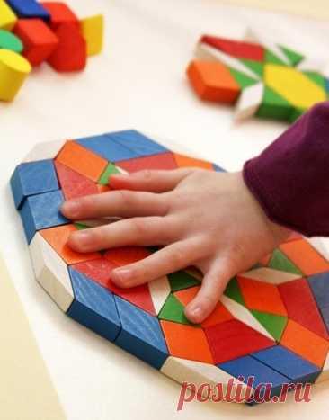 Игры с мозаикой: развиваем усидчивость и моторику