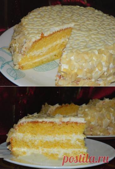 Шикарный тортик «Ожидание» с нежным творожно-лимонным кремом моментально растворяется во рту... - be1issimo.ru