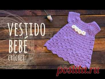 Tutorial Vestido Bebé Ganchillo | Crochet