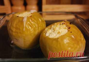El mejor postre dietético: las Manzanas cocidas con el requesón