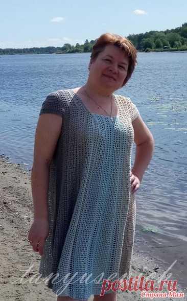 Платье Пустынный пляж - Вязание - Страна Мам
