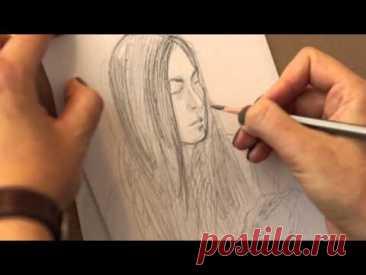Рисуем поэтапно. Учимся рисовать карандашом. Уроки рисования