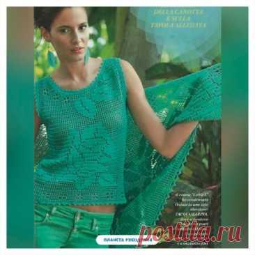Обожаю филейное вязание