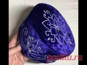 Шью тюбетейку, но так и шляпу можно сшить!!!😄😄😄