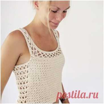 Aestas Crochet Summer Top -