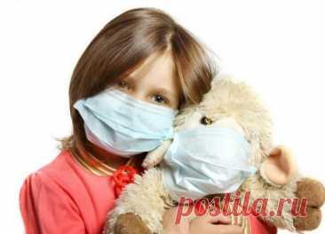Как обезопасить детей от сезонных инфекций? / Малютка