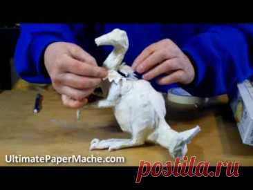 Paper Mache Dragon - Making the Armature