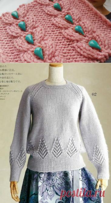 Эти джемперы я случайно нашла в японском журнале..., прекрасный новогодний подарок для рукодельниц + мастер-класс узора. | Asha. Вязание и дизайн.🌶 | Яндекс Дзен