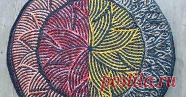 Гелиос Мандала-новый релиз шаблон Оригинальные вязаные узоры, советы и хитрости вязания крючком и узоры вязания крючком.