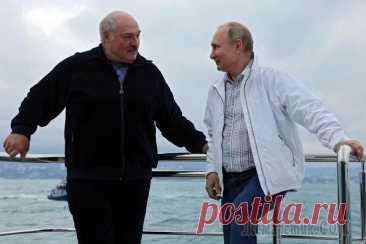 «Лукашенко важно получить деньги»: почему РФ и Белоруссия снова говорят об интеграции Москва и Минск собираются подписать дорожные карты по Союзному государству Россия и Белоруссия вышли на финишную прямую в вопросе согласования дорожных карт по интеграции двух стран в рамках Союзного ...