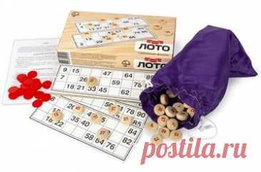 Лото с деревянными фишками    Лото – традиционная русская игра, которая, благодаря простым правилам и азарту, завоевала ог...