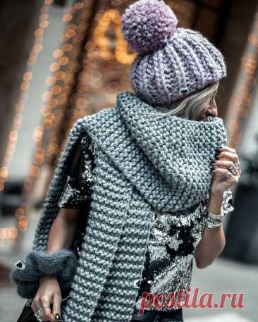 Новинки шарфов 2021-2022: топовые образы с шарфами, как и с чем носить шарф – фото-идеи