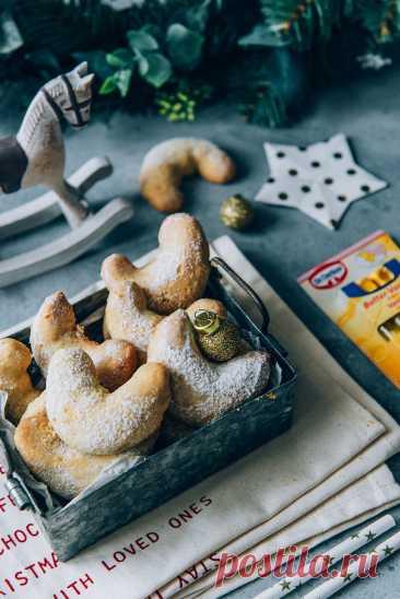 Миндальные полумесяцы пошаговый рецепт с фото на сайте академии выпечки Dr.Oetker