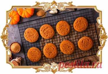 #Ароматное #тыквенное #печенье  Мягкое, рассыпчатое печенье с ароматом корицы, мускатного ореха и ванили — уютная и по-настоящему осенняя выпечка, которая поднимет настроение.  Время приготовления: Показать полностью...