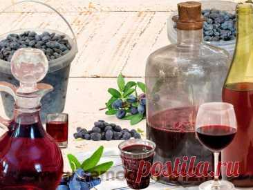 Домашние напитки из жимолости 🍷   Самогонъ-Б12   Яндекс Дзен