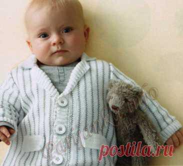 Жакет (д) 03*85 Phildar №3519