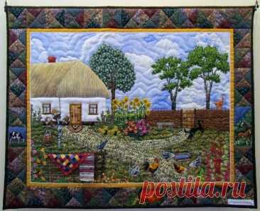 Картины из лоскутков - Мозаика из фактов, историй и фотографий — LiveJournal