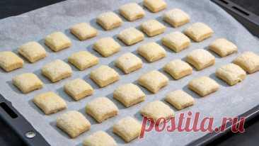 Беру кефир и через 20 минут печенье к чаю готово | Евгения Полевская | Это просто | Яндекс Дзен