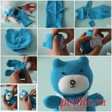 Los juguetes de los calcetines