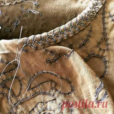 Декоративные швы, выполненные вручную сделают одежду эксклюзивной | Златоручка | Яндекс Дзен