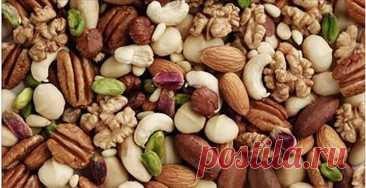 9 орехов, которые вы должны употреблять в необходимых количествах для отличного здоровья! — 🍎 Сад Заготовки