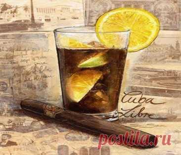 Куба Libre – всемирноизвестный алкогольный коктейль - Мужской журнал JK Men's Куба Libre – всемирноизвестный алкогольный коктейль, который содержит белый ром (один из самых известных продуктов этого тропического острова), сок лайма