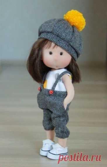 Текстильные куклы своими руками: мастер-класс