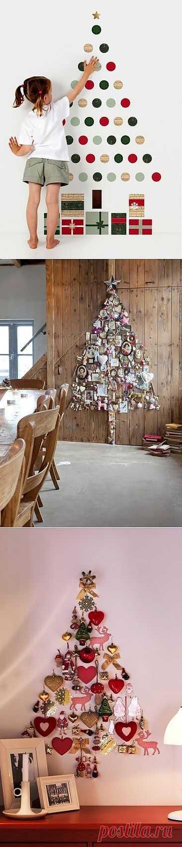 Пять иммитаций ёлок / Новогодний интерьер / Модный сайт о стильной переделке одежды и интерьера