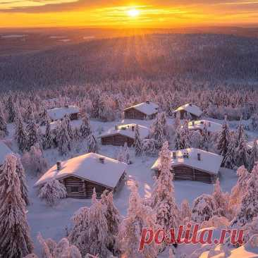 Photo shared by ВОКРУГ СВЕТА on February 03, 2021 tagging @andrewbazanov. May be an image of nature, snow and sky.
