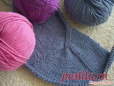. Выкройка вязаного изделия за четыре шага - Вязание - Страна Мам