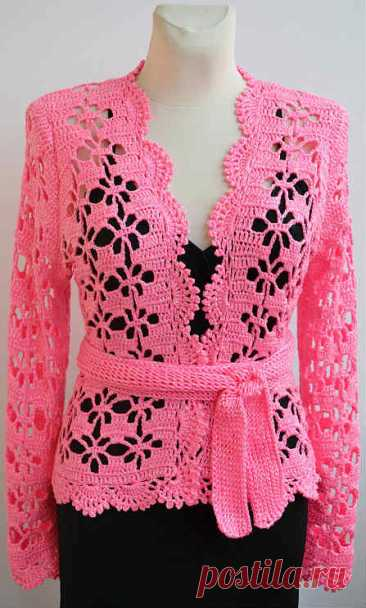Pink crochet jacket - CRAFTS LOVED Hello friends and followers, I hope you are well in this quarantine and very excited and ready to start an amazing crochet jacket, the pattern we are going to make today is sensational, I am sure you will love this work of art. This crochet pattern is very beautiful and with a simple and very […]
