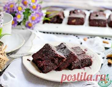 Брауни из фасоли – кулинарный рецепт