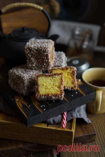 Ламингтон (Lamington) — австралийский чудо-десерт | Andy Chef (Энди Шеф) — блог о еде и путешествиях, пошаговые рецепты, интернет-магазин для кондитеров |